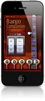 Banjo Companion for iPhone & iPad
