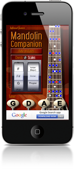 Mandolin Companion for iPhone & iPad